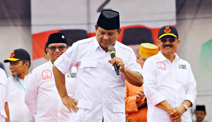 Foto Berita Aksi Marah-marah Prabowo, Diduga Terinspirasi Cara Donald Trump