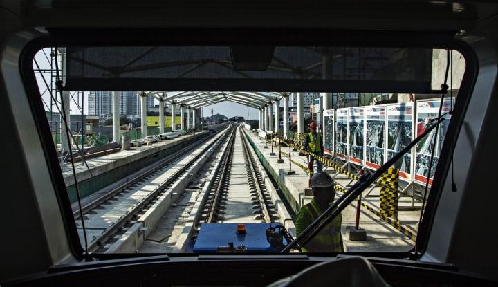 Hore! LRT Jurusan Cawang-Cibubur Siap Beroperasi - Warta Ekonomi