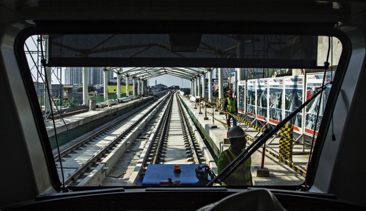 Foto Berita Bulan Depan, Jokowi Bakal Resmikan LRT Palembang