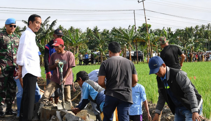 Jokowi: Dana Desa Kurangi Kesenjangan - Warta Ekonomi