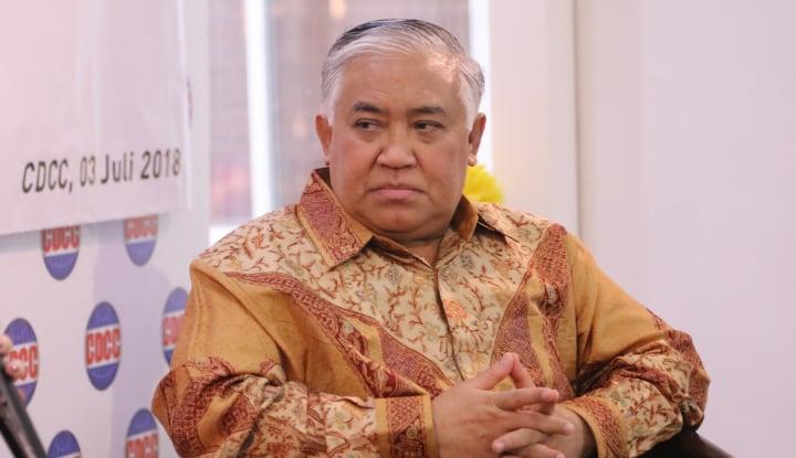 Din Syamsuddin Minta Polisi Jangan Asal Percaya Soal Penusuk Ali Jaber Gila