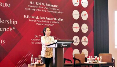 Foto Di AS, Rini Beberkan Capaian Pemerintahan Jokowi