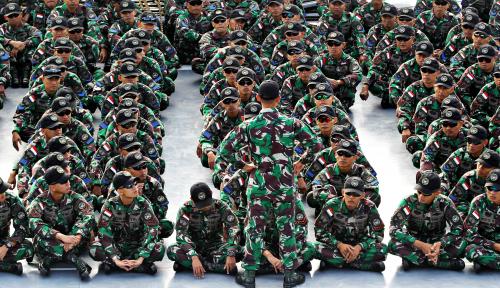 Foto Pemilu 2019, Ujian TNI Profesional atau Tidak