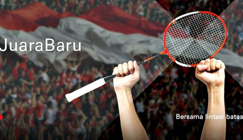 Foto Sponsori BWF World Tour, HSBC Kampanyekan #RayakanJuaraBaru