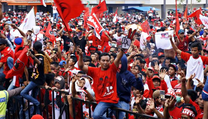 Hasil Survei: Kader PDIP Belum Tentu Coblos Jokowi - Warta Ekonomi
