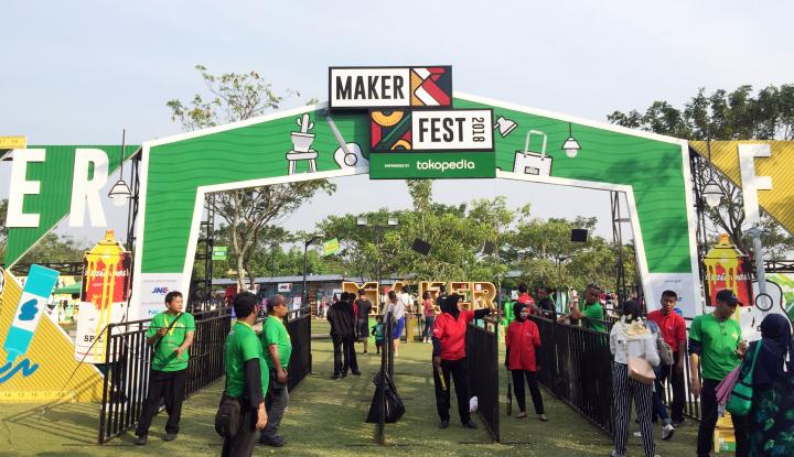 Foto Berita 30 Kreator Lokal Jakarta Pamerkan Produk di MakerFest 2018