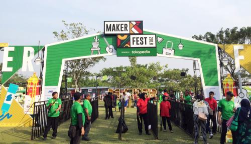 Foto 30 Kreator Lokal Jakarta Pamerkan Produk di MakerFest 2018