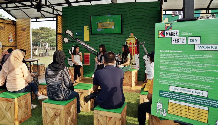 Foto Berita Tokopedia: Kreator Lokal Masih Berpeluang Besar untuk Kembangkan Bisnis