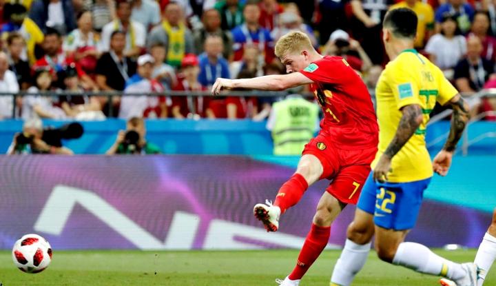 Foto Berita Belgia Sukses Kalahkan Brasil 2-1