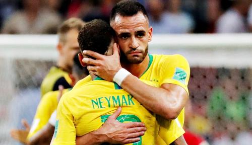 Foto Neymar Jadi Bahan Olok-Olok Pendukung Belgia