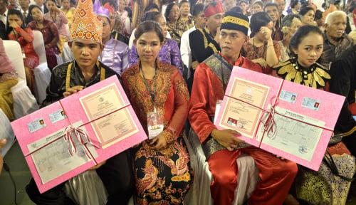 Foto Menteri Yohana Ajak Suami Lindungi Istri