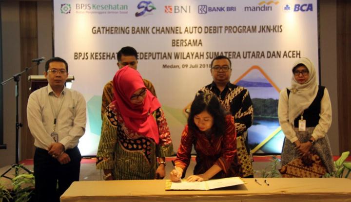 Foto Berita Permudah Bayar Iuran, BPJS Kesehatan Sumut-Aceh Gandeng Empat Bank