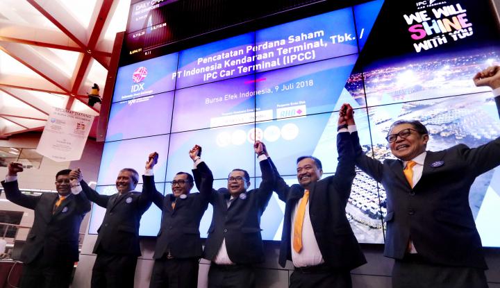 Foto Berita Anak Usaha Resmi Melantai di Bursa, IPC Apresiasi Investor