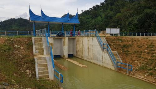 Foto Masih Rendah, Pemerintah Genjot Volume Kapasitas Air Tampung