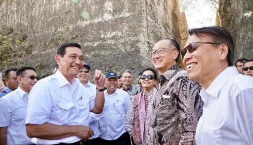 Foto Luhut Ajak Delegasi IMF-WB Berkontribusi untuk Palu