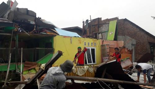 Foto Tiga Hari Hujan Deras, Walikota Medan Minta Dinas PU Atasi Banjir
