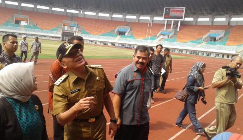 Foto Iriawan Minta Pembenahan Arena Asian Games Dikebut