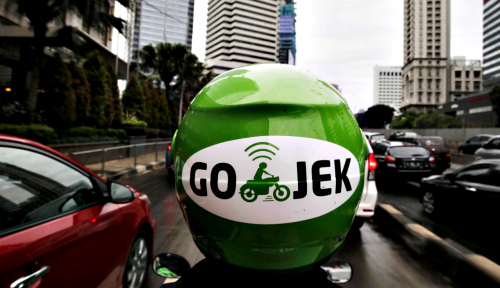 Foto Go-Jek Bagi-Bagi Hadiah Undian Go-Points Rp1 Miliar