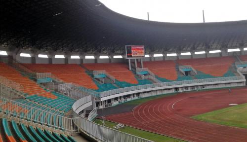 Foto Pengerjaan Infrastruktur Asian Games Rampung 31 Juli 2018