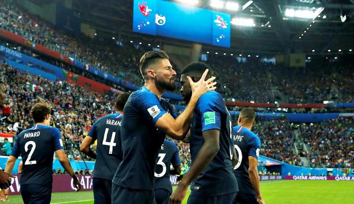 Foto Berita Menyongsong Final Ketiga Prancis di Piala Dunia