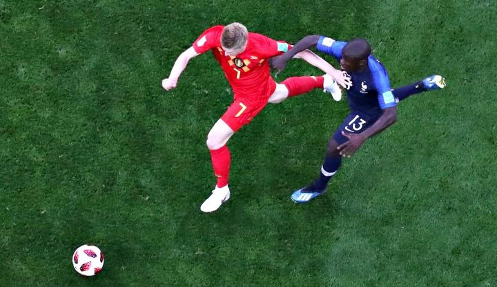 Foto Berita Perjalanan Belgia Belum Selesai di Piala Dunia