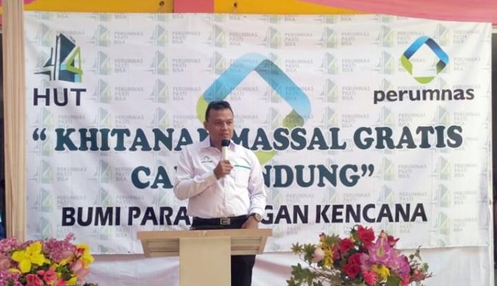 Foto Berita Perumnas: Pilgub Lancar, Bisnis Properti Juga Lancar