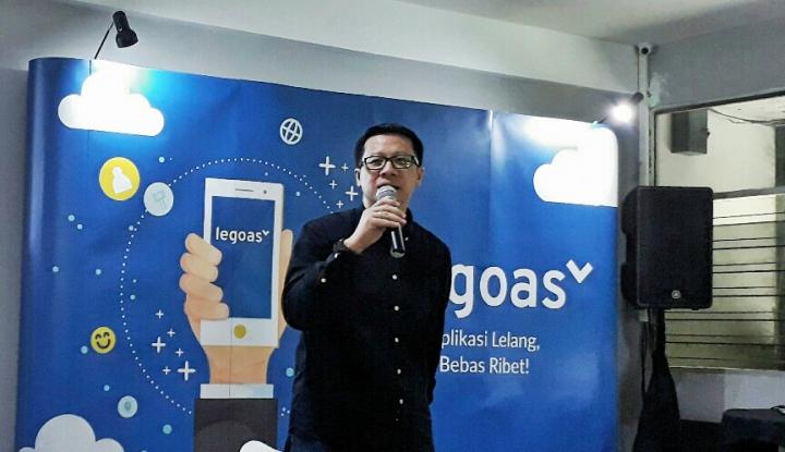legoas, lelang berbasis digital pertama di indonesia