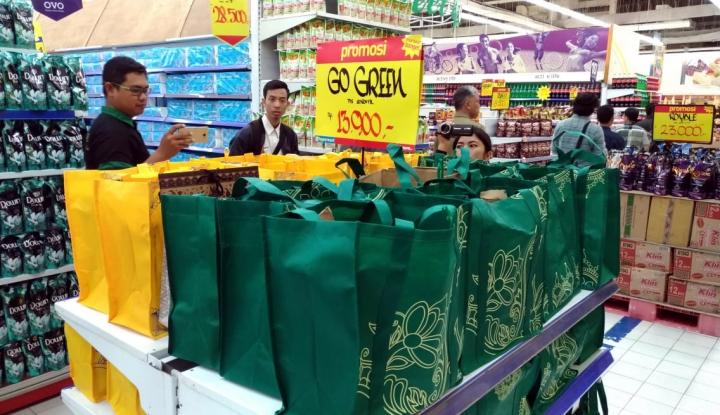 Foto Berita Pelarangan Plastik di Balikpapan Kini Mulai Sasar Pasar Tradisional