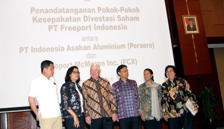Foto Berita Kepemilikan Saham Freeport Meningkat, Berapa Keuntungan untuk Indonesia?