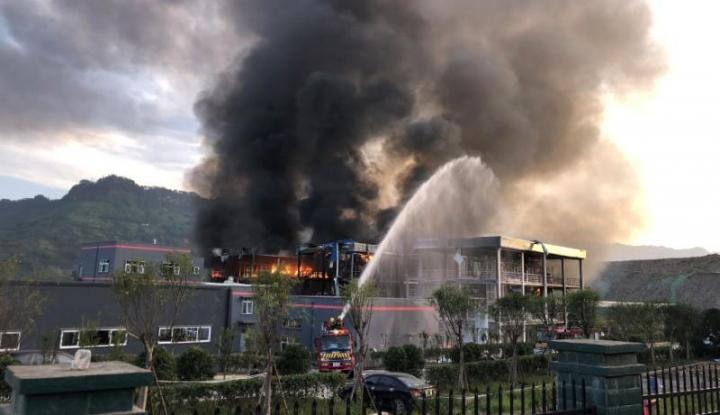 Foto Berita Lagi-lagi Pabrik Kimia Meledak di China, 22 Orang Tewas di TKP