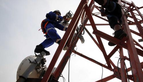 Foto Menkominfo Bidik Pembangunan 4 Ribu BTS Selesai 2020