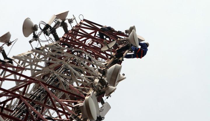 Emiten Penyedia Tower Alami Penurunan Laba di Semester I - Warta Ekonomi