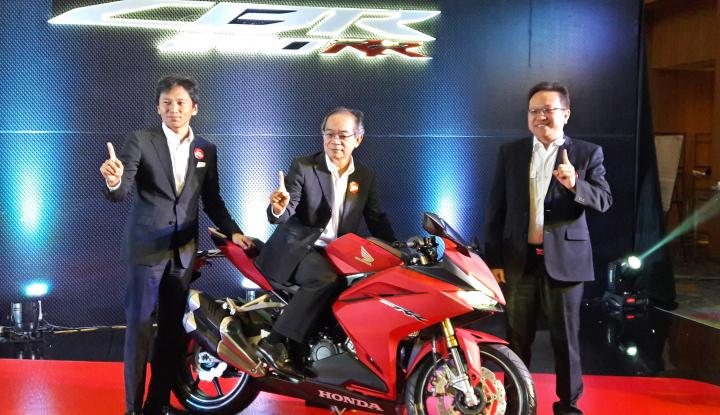 Foto Berita Honda Rilis Varian Baru New Honda CBR250RR