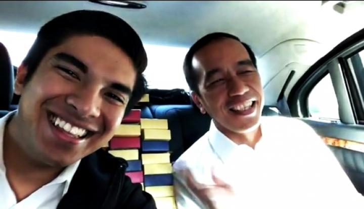 Foto Berita Viral, Video Keakraban Jokowi dengan Menteri Malaysia