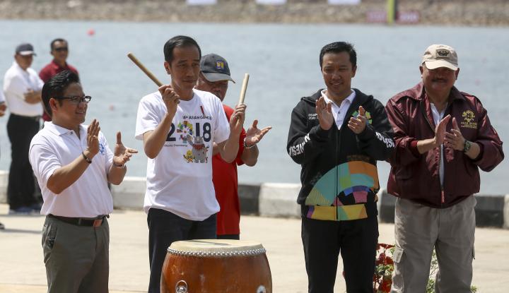 Foto Berita Cek Kesiapan Asian Games, Begini Reaksi Jokowi...