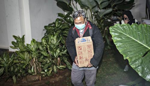 Foto Geledah Tiga Lokasi, KPK Dapatkan Barbuk Penting