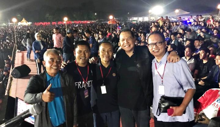 Foto Berita Ratusan Ribu Orang Menyemut, Nobar Piala Dunia Transmedia Dapat 2 Rekor Muri