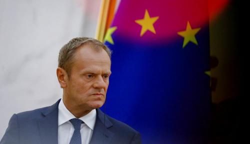 Foto Donald Tusk: Rusia Bukan Mitra tapi Perkara