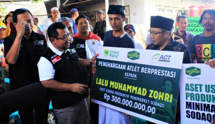 Foto Berita ACT-Global Wakaf Siap Beri Bantuan Aset Usaha ke Muhammad Zohri