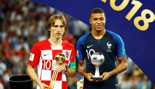 Foto Narasi Kemenangan Prancis di Piala Dunia 2018
