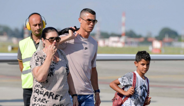 Foto Berita Baru Bergabung, Ronaldo Ikut Tur Pramusim Juventus ke China