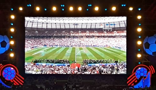 Foto Manfaatkan Piala Dunia, Cara Pegadaian Medan Kenalkan Produknya