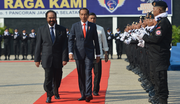 Foto Berita Pesan Jokowi: Generasi Muda Jangan Grogi