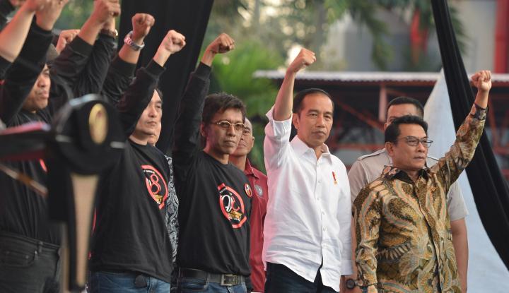 Foto Berita Tekan Hoax Soal Jokowi, Lihat Cara Moeldoko