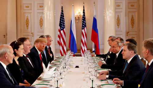 Foto Finlandia Gelontorkan US$11,66 Juta untuk KTT Trump-Putin