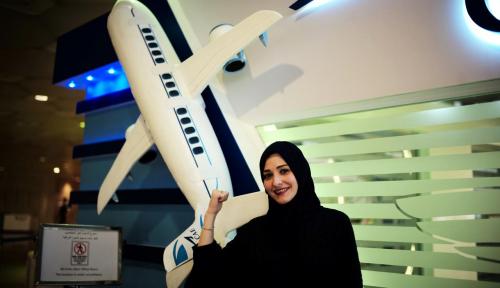 Foto Pekerja Perempuan Saudi Meroket 9% di Kuartal Kedua