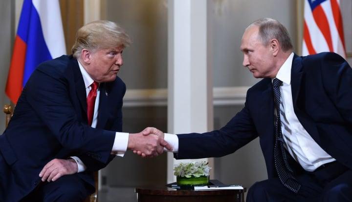Foto Berita Trump Sebut KTT dengan Putin Lebih Baik Daripada Pertemuan NATO