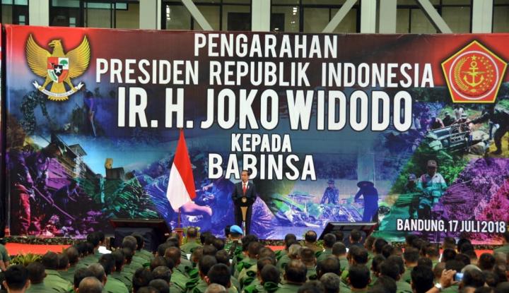 Foto Berita Hadapi Revolusi Industri 4.0, Jokowi Minta Babinsa Tingkatkan Kemampuan