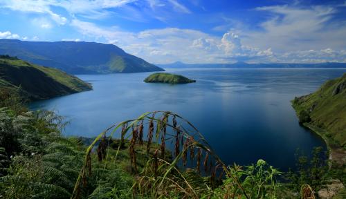 Foto Kemenhub Gelontorkan Rp1,06 Triliun Bangun Transportasi di Danau Toba