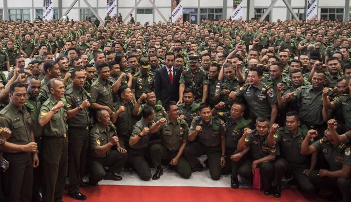 Foto Berita Jokowi Instruksikan TNI-Polri Tetap Netral